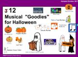 Twelve IWB Musical Goodies for Halloween