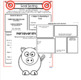 """Three Ninja Pigs"" Activity Guide- a lesson on perseverance, test prep and more."