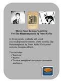 Three Panel Metamorphosis Textual Evidence Project (Franz Kafka)