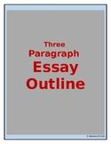 Three Paragraph Essay Outline