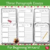Writing Prompts: Three Paragraph Stories For Beginning Writers