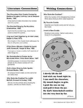 Three-Part Book - The Cookie