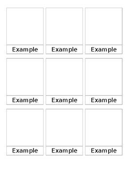 Three Part Card Template for Word
