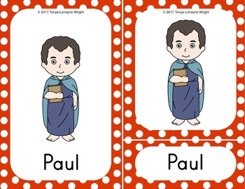 Three Part Cards Bible People