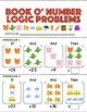 Three Part Number Logic Problems - Silly Creature Themed - Customizable