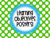 Three Part Objectives (SPANISH RESOURCE)