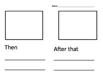 Three Part Story Worksheet