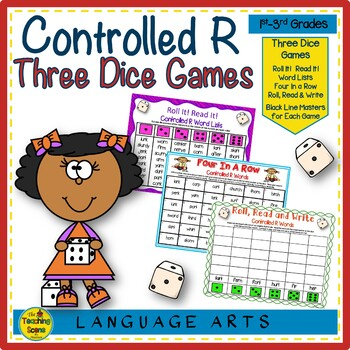 Three Phonics Controlled R Dice Games
