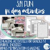 Three Pi Day Math Activities