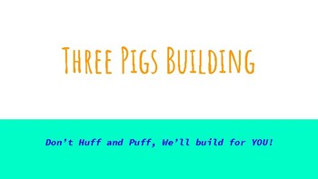Three Pigs Building Company!