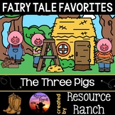 Fairy Tales Activities for The Three Little Pigs