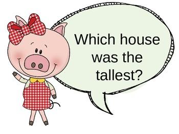 Three Pigs Measurement - Different Informal Units IWB