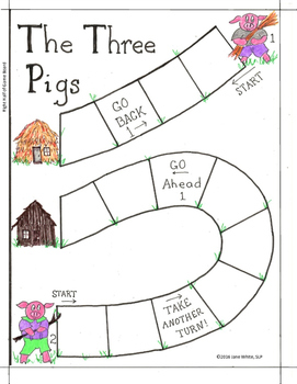 Three Pigs R Board Game