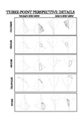 Three Point Perspective Help Sheet