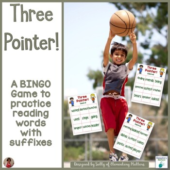 Suffixes   Basketball Themed BINGO Game