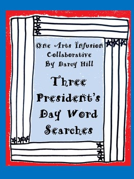 Three President's Day Word Searches