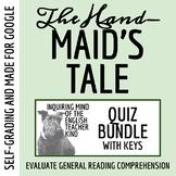 The Handmaid's Tale Quiz & Key Bundle (Word Docs, Google Docs & PDFs)