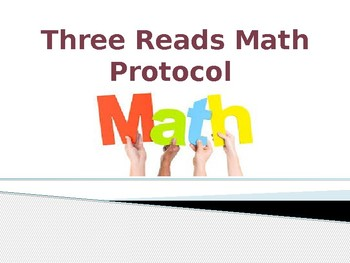 Three Reads Math Protocol