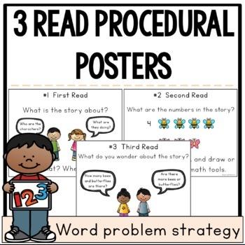 3 Read Procedural Poster