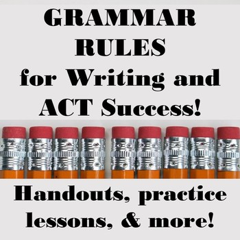 Three Sentence Rules for Writing and ACT Success!