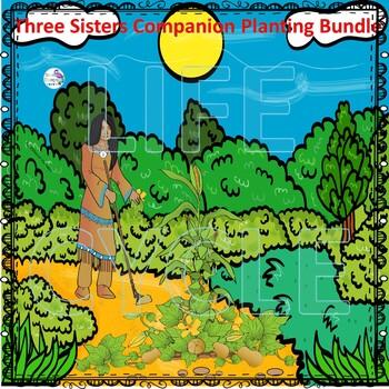 Three Sisters Companion Planting Bundle