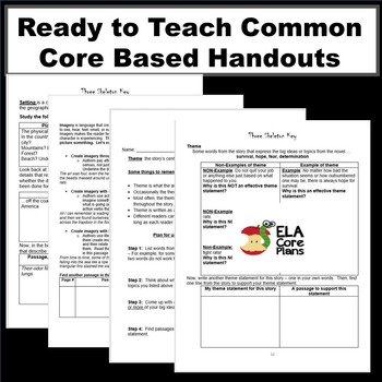 """Three Skeleton Key"" Common-Core Lesson Plans, Activities, Handouts"