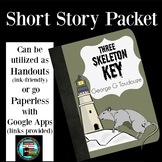 Three Skeleton Key Questions and Activity Cards, Story Elements