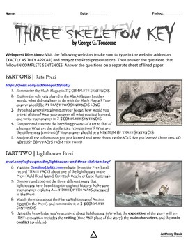 Three Skeleton Key Webquest