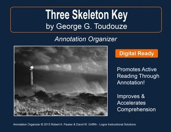 Three skeleton key teaching resources teachers pay teachers three skeleton key by george g toudouze annotation organizer ccuart Image collections