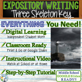 Three Skeleton Key George Toudouze - Text Dependent Analysis Expository Writing