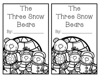 Three Snow Bears 5w's book