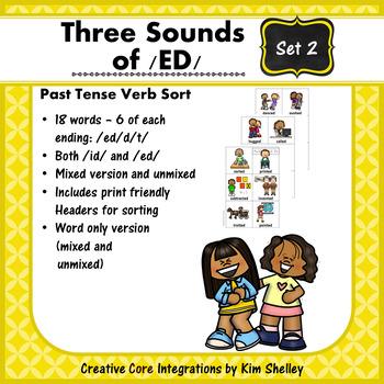Three Sounds of /ED/ Sort - Set 2