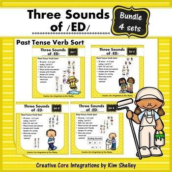 Three Sounds of /ED/ Sort BUNDLE