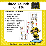 Three Sounds of /ED/ Sort - Set 1