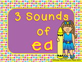 Three Sounds of ea - Power Point and Printables