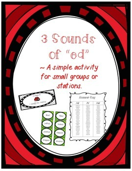 Three Sounds of -ed