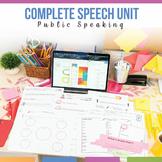 Public Speaking Unit: Impromptu, How-To, Narrative, Inform