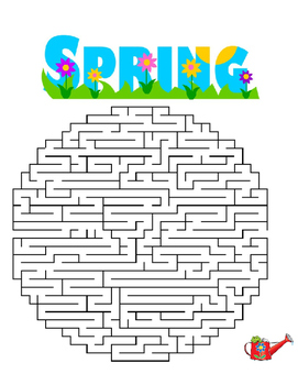 Three Spring Mazes