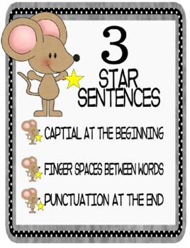 Three Star Sentences!
