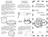Three States of Matter Brochure
