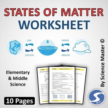 Matter Worksheets Teachers Pay Teachers