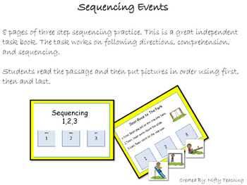 Three Step Sequencing
