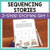 Three Step Sequencing Stories Set 1