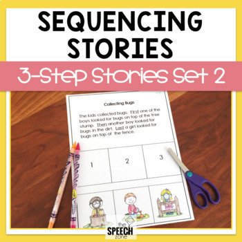 Three-Step Sequencing Stories Set 2