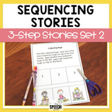 Three Step Sequencing Stories Set 2