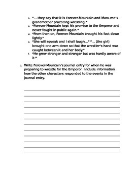 Three Strong Women Packet - Common Core Aligned Questions