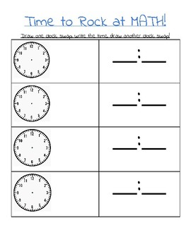 Three Super Simple Organizers for Simple Fractions, Time, and Measurement