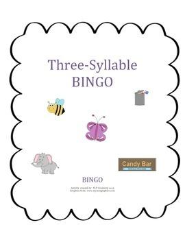 Three-Syllable Bingo (articulation)