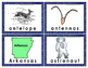 Three Syllable Illustrated Word Puzzles, Word Wall Cards - Color + BW  Easy Prep