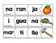 Three Syllable Puzzles in Spanish ( Palabras de tres silabas )